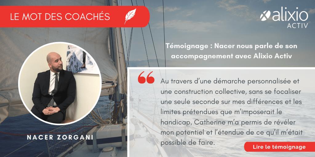 Le mot des coachés : Nacer Zorgani nous parle de son accompagnement
